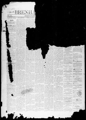 Primary view of object titled 'Brenham Weekly Banner. (Brenham, Tex.), Vol. 12, No. 4, Ed. 1, Friday, January 26, 1877'.