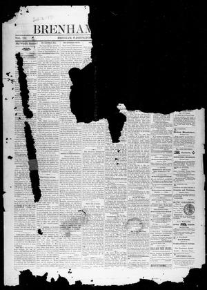 Primary view of object titled 'Brenham Weekly Banner. (Brenham, Tex.), Vol. 12, No. 5, Ed. 1, Friday, February 2, 1877'.