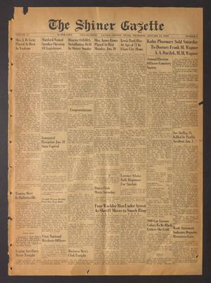 The Shiner Gazette (Shiner, Tex.), Vol. 57, No. 2, Ed. 1 Thursday, January 13, 1949
