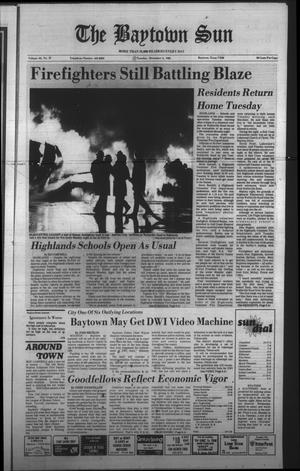 Primary view of The Baytown Sun (Baytown, Tex.), Vol. 62, No. 031, Ed. 1 Tuesday, December 6, 1983