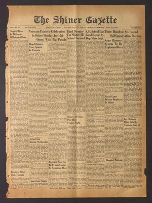 The Shiner Gazette (Shiner, Tex.), Vol. 57, No. 25, Ed. 1 Thursday, June 23, 1949