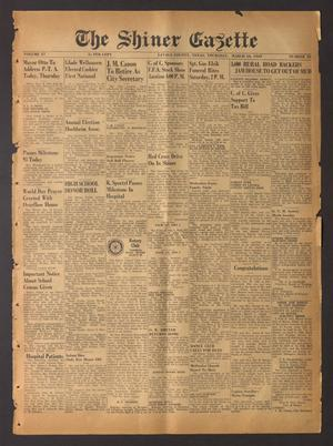 The Shiner Gazette (Shiner, Tex.), Vol. 57, No. 10, Ed. 1 Thursday, March 10, 1949