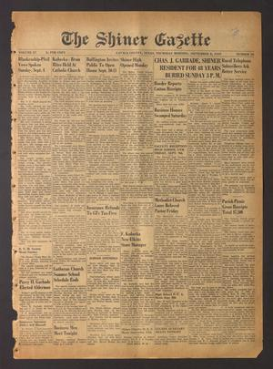 The Shiner Gazette (Shiner, Tex.), Vol. 57, No. 36, Ed. 1 Thursday, September 8, 1949