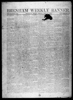 Primary view of object titled 'Brenham Weekly Banner. (Brenham, Tex.), Vol. 13, No. 22, Ed. 1, Friday, May 31, 1878'.