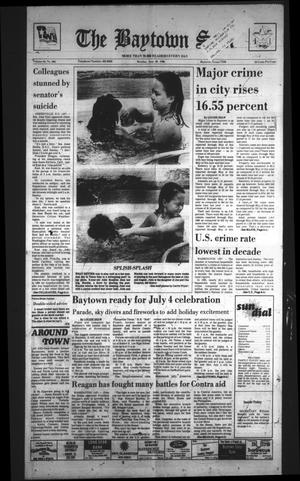 Primary view of The Baytown Sun (Baytown, Tex.), Vol. 64, No. 206, Ed. 1 Monday, June 30, 1986