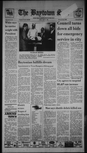 Primary view of The Baytown Sun (Baytown, Tex.), Vol. 64, No. 138, Ed. 1 Friday, April 11, 1986