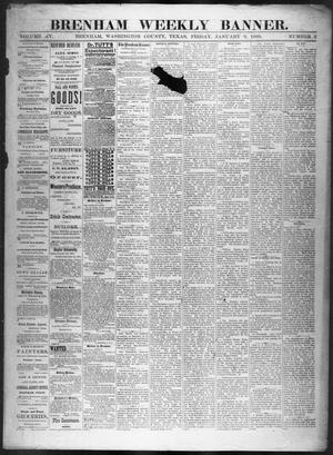 Primary view of object titled 'Brenham Weekly Banner. (Brenham, Tex.), Vol. 15, No. 2, Ed. 1, Friday, January 9, 1880'.