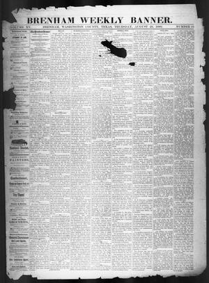 Brenham Weekly Banner. (Brenham, Tex.), Vol. 15, No. 35, Ed. 1, Thursday, August 26, 1880