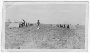 Primary view of object titled '[Army camp at Texas City, Texas]'.