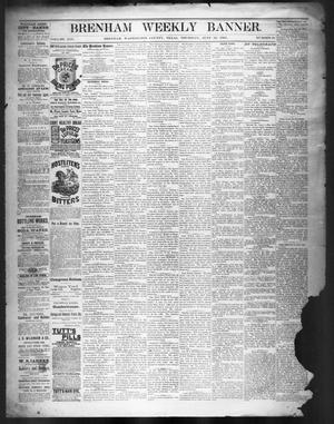 Primary view of object titled 'Brenham Weekly Banner. (Brenham, Tex.), Vol. 19, No. 24, Ed. 1, Thursday, June 12, 1884'.
