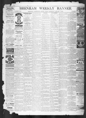 Brenham Weekly Banner. (Brenham, Tex.), Vol. 21, No. 1, Ed. 1, Thursday, January 7, 1886