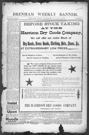 Brenham Weekly Banner. (Brenham, Tex.), Vol. 32, No. 2, Ed. 1, Thursday, January 14, 1897