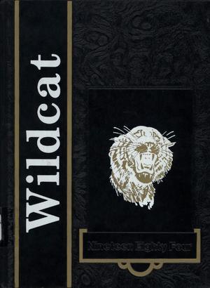 The Wildcat, Yearbook of Archer City Schools, 1984