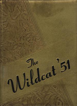 The Wildcat, Yearbook of Archer City Schools, 1951