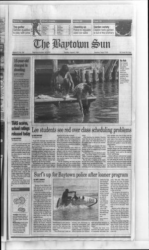 Primary view of The Baytown Sun (Baytown, Tex.), Vol. 72, No. 236, Ed. 1 Tuesday, August 2, 1994