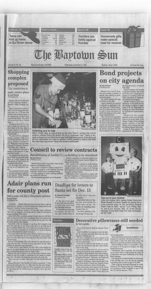 Primary view of The Baytown Sun (Baytown, Tex.), Vol. 72, No. 33, Ed. 1 Wednesday, December 8, 1993
