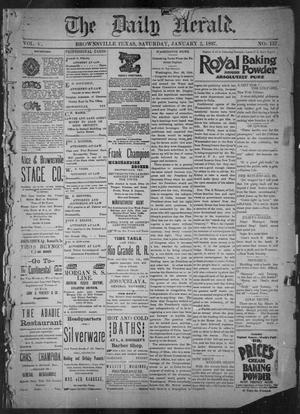 The Daily Herald (Brownsville, Tex.), Vol. 5, No. 157, Ed. 1, Saturday, January 2, 1897