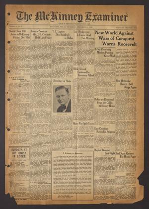 The McKinney Examiner (McKinney, Tex.), Vol. 51, No. 6, Ed. 1 Thursday, December 3, 1936