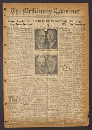 The McKinney Examiner (McKinney, Tex.), Vol. 51, No. 1, Ed. 1 Thursday, October 29, 1936