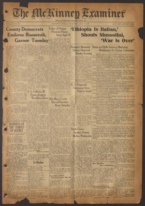 The McKinney Examiner (McKinney, Tex.), Vol. 50, No. 28, Ed. 1 Thursday, May 7, 1936