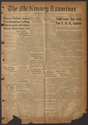 The McKinney Examiner (McKinney, Tex.), Vol. 50, No. 31, Ed. 1 Thursday, May 28, 1936