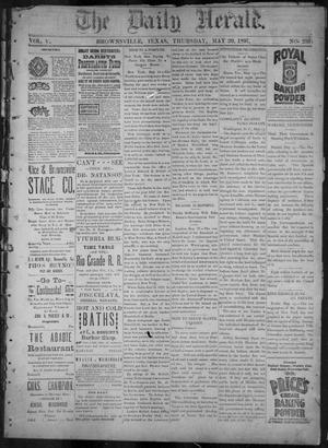 Primary view of object titled 'The Daily Herald (Brownsville, Tex.), Vol. 5, No. 239, Ed. 1, Thursday, May 20, 1897'.