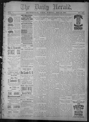 Primary view of object titled 'The Daily Herald (Brownsville, Tex.), Vol. 5, No. 243, Ed. 1, Tuesday, May 25, 1897'.