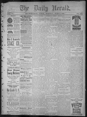 The Daily Herald (Brownsville, Tex.), Vol. 5, No. 255, Ed. 1, Tuesday, June 8, 1897