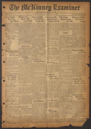 The McKinney Examiner (McKinney, Tex.), Vol. 50, No. 38, Ed. 1 Thursday, July 16, 1936
