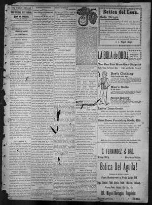 Primary view of object titled 'The Daily Herald (Brownsville, Tex.), Vol. 5, No. 307, Ed. 1, Tuesday, June 29, 1897'.