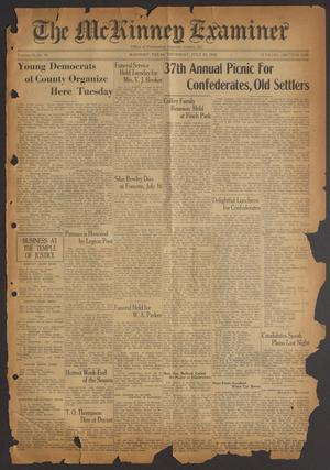 The McKinney Examiner (McKinney, Tex.), Vol. 50, No. 39, Ed. 1 Thursday, July 23, 1936