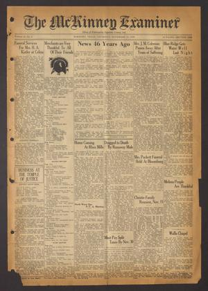 The McKinney Examiner (McKinney, Tex.), Vol. 51, No. 4, Ed. 1 Thursday, November 19, 1936