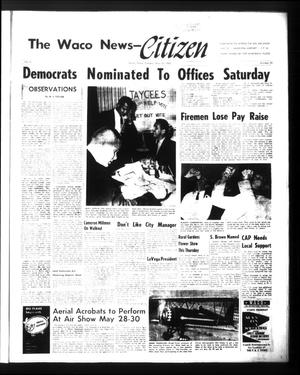 Primary view of object titled 'The Waco News-Citizen (Waco, Tex.), Vol. 2, No. 35, Ed. 1 Tuesday, May 10, 1960'.