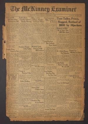 The McKinney Examiner (McKinney, Tex.), Vol. 51, No. 10, Ed. 1 Thursday, December 31, 1936