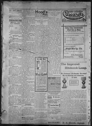 Primary view of object titled 'The Brownsville Daily Herald. (Brownsville, Tex.), Vol. 6, No. 25, Ed. 1, Monday, August 2, 1897'.