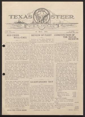 Primary view of object titled 'The Texas Steer (U. S. S. Texas), Vol. 5, No. 25, Ed. 1 Saturday, May 19, 1934'.