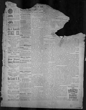 Primary view of object titled 'The Brownsville Daily Herald. (Brownsville, Tex.), Vol. 6, No. 33, Ed. 1, Wednesday, August 11, 1897'.