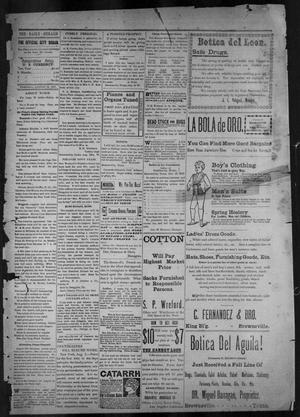 The Brownsville Daily Herald. (Brownsville, Tex.), Vol. 6, No. 34, Ed. 1, Thursday, August 12, 1897
