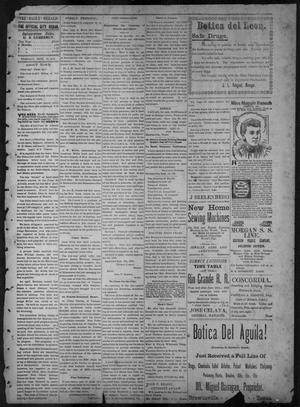 Primary view of object titled 'The Brownsville Daily Herald. (Brownsville, Tex.), Vol. 6, No. 61, Ed. 1, Tuesday, September 14, 1897'.