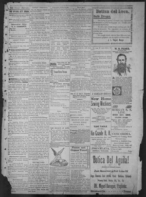 The Brownsville Daily Herald. (Brownsville, Tex.), Vol. 6, No. 72, Ed. 1, Monday, September 27, 1897