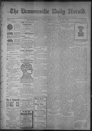 Primary view of object titled 'The Brownsville Daily Herald. (Brownsville, Tex.), Vol. 6, No. 273, Ed. 1, Thursday, May 19, 1898'.