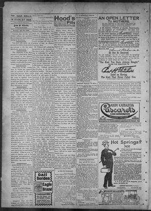 Primary view of object titled 'The Brownsville Daily Herald. (Brownsville, Tex.), Vol. 6, No. 281, Ed. 1, Monday, May 30, 1898'.