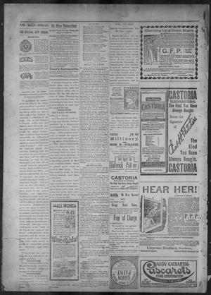 Primary view of object titled 'The Brownsville Daily Herald. (Brownsville, Tex.), Vol. 7, No. 130, Ed. 1, Saturday, November 19, 1898'.