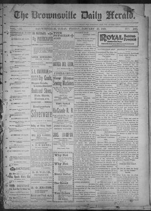 Primary view of The Brownsville Daily Herald. (Brownsville, Tex.), Vol. 7, No. 192, Ed. 1, Friday, January 27, 1899