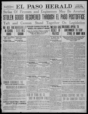 Primary view of object titled 'El Paso Herald (El Paso, Tex.), Ed. 1, Tuesday, March 15, 1910'.