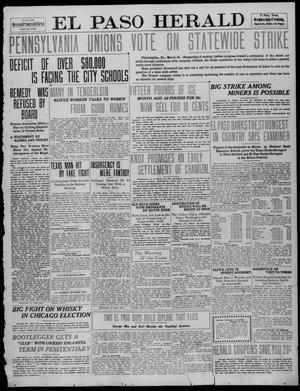 Primary view of object titled 'El Paso Herald (El Paso, Tex.), Ed. 1, Wednesday, March 16, 1910'.