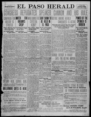 Primary view of object titled 'El Paso Herald (El Paso, Tex.), Ed. 1, Saturday, March 19, 1910'.