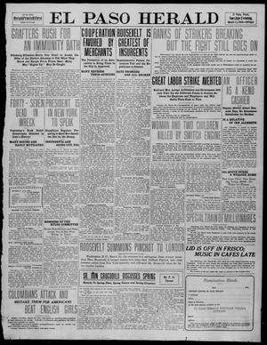Primary view of object titled 'El Paso Herald (El Paso, Tex.), Ed. 1, Tuesday, March 22, 1910'.