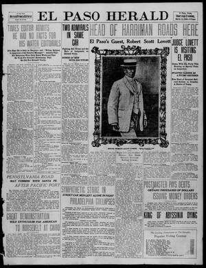 Primary view of object titled 'El Paso Herald (El Paso, Tex.), Ed. 1, Thursday, March 24, 1910'.