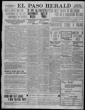 Primary view of object titled 'El Paso Herald (El Paso, Tex.), Ed. 1, Monday, March 28, 1910'.